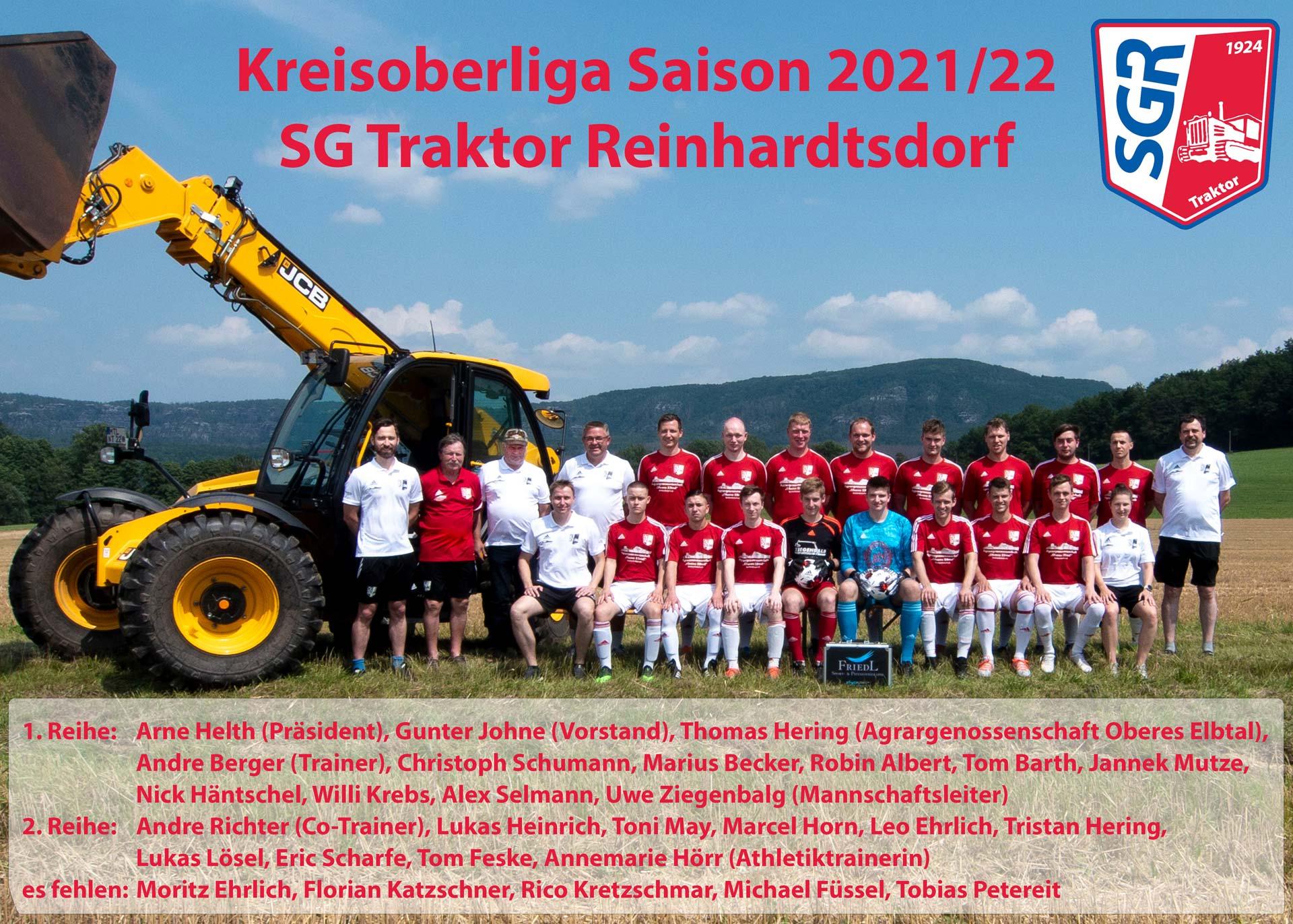 Mannschaftsbild M1 Saison 2021/2022
